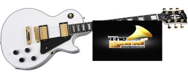 กีตาร์ไฟฟ้า Gibson Les Paul Custom Alphine White