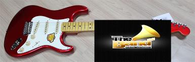 กีตาร์ไฟฟ้า Squier Classic Vibe Strat 50's Limited Candy Apple Red Matching Headstock