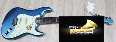 กีตาร์ไฟฟ้า Squier Classic Vibe Strat 60's Limited Lake Placid Blue Matching Headstock