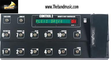 <h2>เอฟเฟ็คกีตาร์  Digitech 	Foot Controller for GSP</h2>