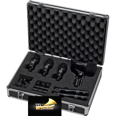 ไมค์กลองชุด AKG Groove Pack 6 Drum Microphone Package with Case
