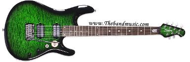 <h2>Sterling by Music Man JP100D Trans Green Burst</h2>