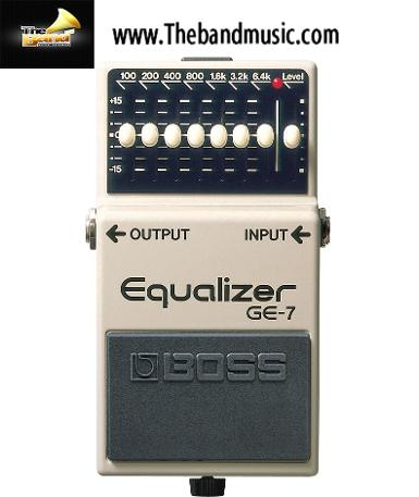 <h2>Boss GE-7 Equalizer Pedal</h2>