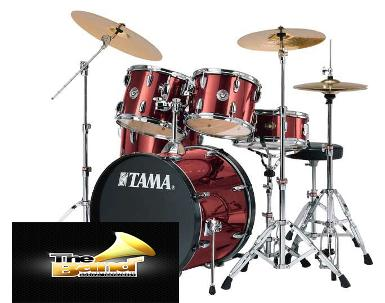 <h2>กลองชุด Tama Rhythm Mate RM Series Drum Set ( with 13</h2>