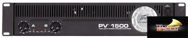 <h2>Peavey Power Amps PV-1500</h2>