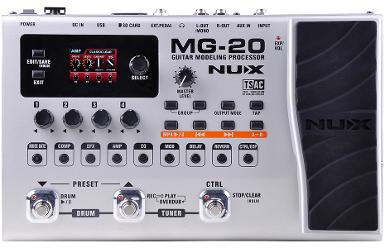 NUX MG - 20 Guitar Modeling Processor