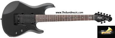 <h2>กีตาร์ไฟฟ้า Sterling by music man JP70 Black Satin (7 Strings)</h2>