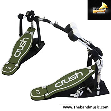 Crush  M4 Bass Drum Pedal Double with case