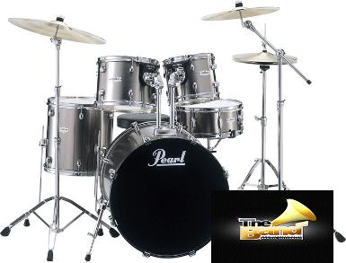 <h2>กลองชุด Pearl Forum Series Drum Set 5 Pcs ( with Hardware and Cymbal )</h2>