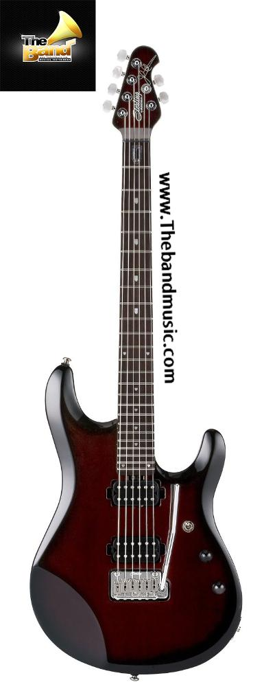 <h2>กีตาร์ไฟฟ้า Sterling By music man JP60 pearl red burst john petrucci signature guitar<h2>