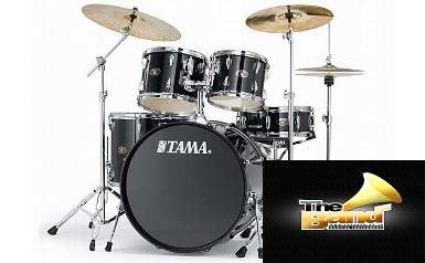 <h2>กลองชุด Tama 	IMPERIALSTAR Drum Set ( with MEINL HCS Cymbal Set )</h2>
