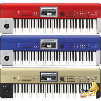 <h2>Korg Synthesizer KROME - 61 Keys (Limited Colour)</h2>