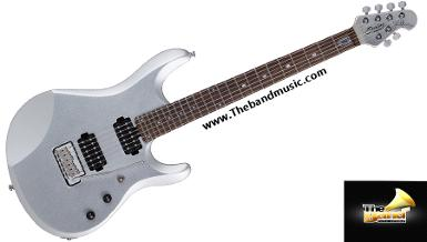 <h2>กีตาร์ไฟฟ้า Sterling by music man JP60 Sterling Silver John petrucci signature guitar</h2>