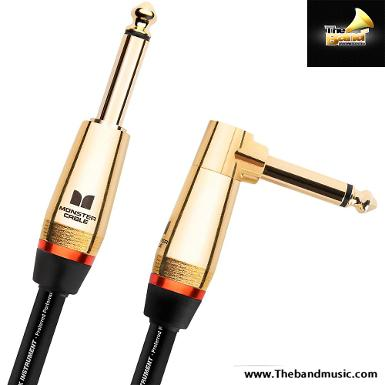 Monster 	Rock 21ft Angled to Straight Instrument Cable