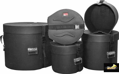 <h2>Gator Drum Case Set GP-PE Standard</h2>