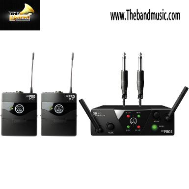<h2>ไวเลส AKG‏ WMS40 Mini 2 Instrument Set ( Dual )</h2>