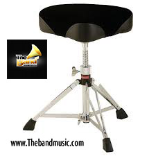 <h2>Ludwig L349TH Saddle Shaped Drum Throne</h2>